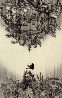 重藤 裕子 銅版画「小さなアジア」*シート