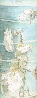アルフォンス・イノウエ 限定制作ジクレー版画「石の記憶(3)」*額装品