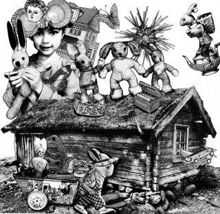伊藤尚子  版画作品(銅版画)『魔法のかかったフレンチクルーラー』シート