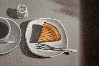 豊田 泰弘 油彩画『アップルパイ』