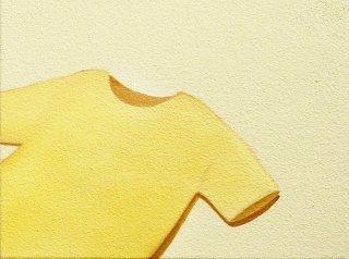 豊田 泰弘 油彩画『Tシャツ』