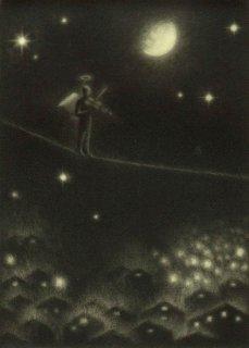 小池結衣 銅版画『詩人』*シート