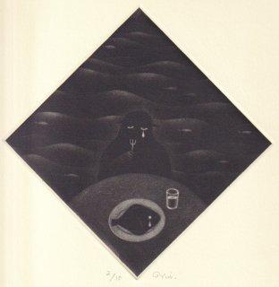 小池結衣 銅版画『日々の糧』*シート