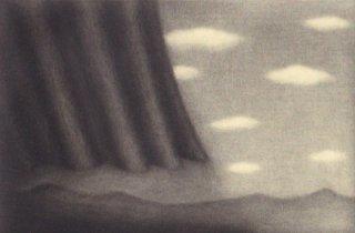 小池結衣 銅版画『夕立』*シート