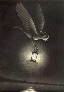 小池結衣 銅版画『光を運ぶ』*シート