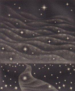 小池結衣 銅版画『河』*シート
