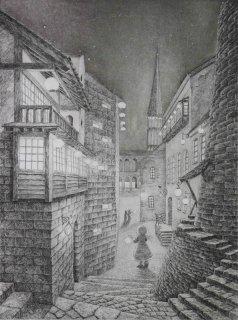 長野 順子 銅版画「オリオン祭」*シート