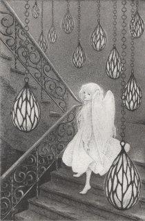 長野 順子 銅版画「月の雫」*シート