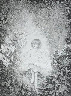 長野 順子 銅版画「続いてゆく」*シート