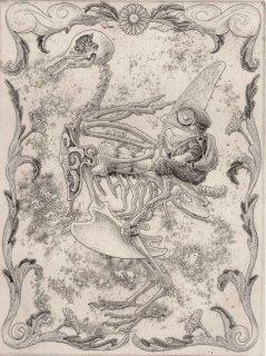 長野 順子 銅版画「旅ノススメ」*シート