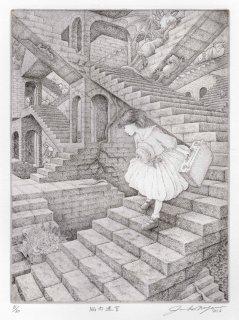 長野 順子 銅版画「脳内迷宮」*シート
