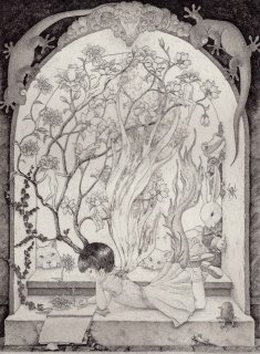 長野 順子 銅版画「私の王国」*シート