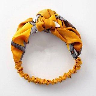 スカーフヘアアレンジヘアバンド