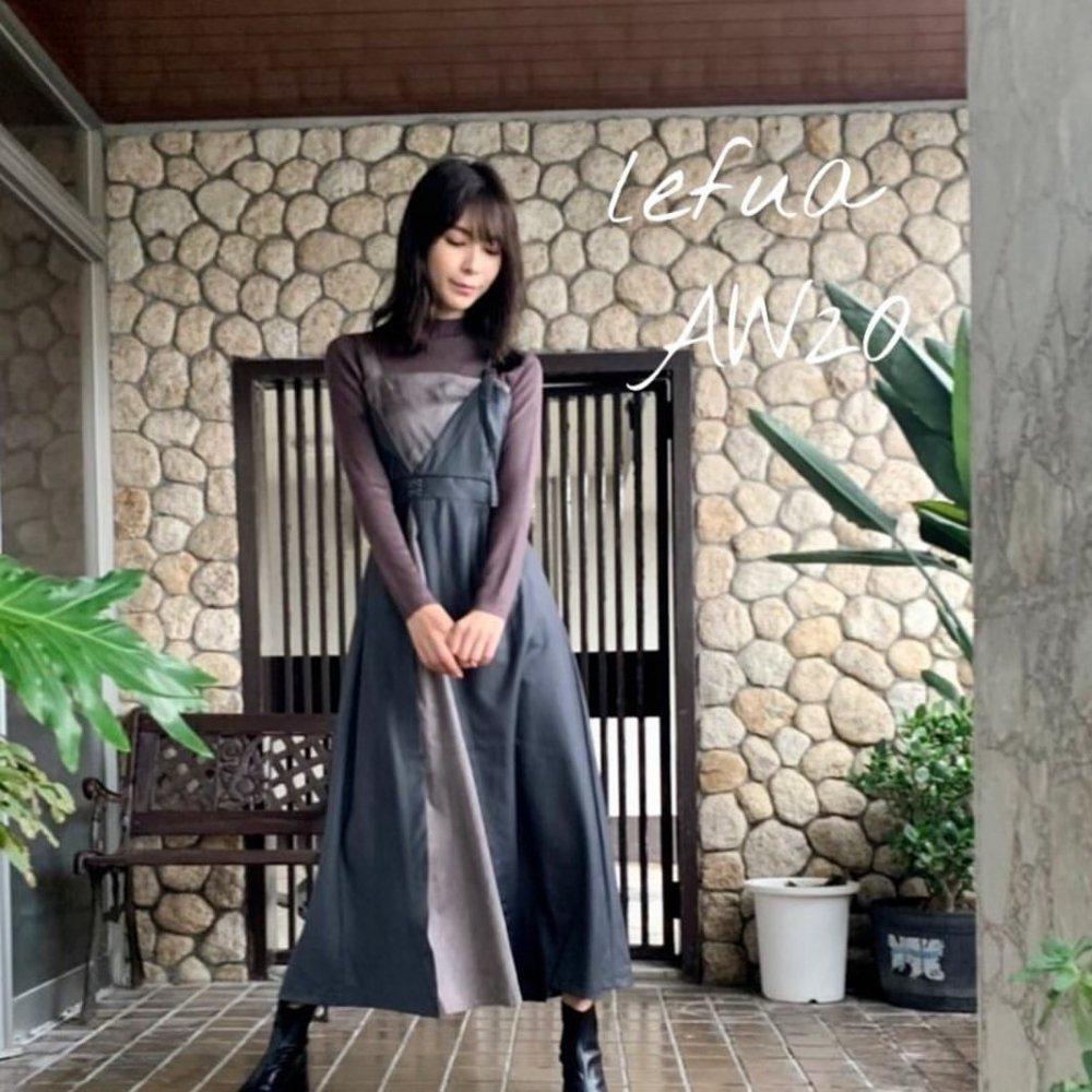 アシメレイヤードライクドレス