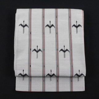 袋帯 西陣織物 鳥