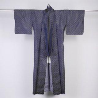 大島紬 ヨコソ 青海波 裄丈63cm