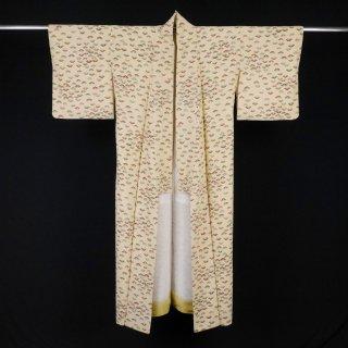 小紋 笠松文様 裄丈65cm