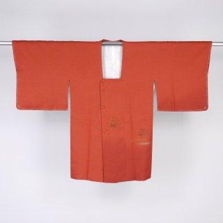 道行コート 六角形の文様 裄丈64cm