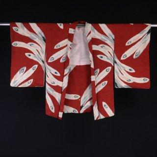 アンティーク羽織 大きな羽根 裄丈63.5cm
