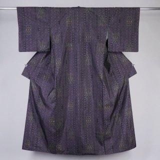 大島紬 カタス式7マルキ 裄丈67� 未着用品