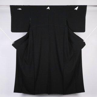 黒紋付 本岩石黒 裄丈68.5�