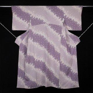 小紋 桜 裄丈68�