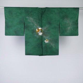 道行コート 桐に鳳凰 美品 裄丈63�