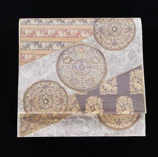 袋帯 華文様 螺鈿