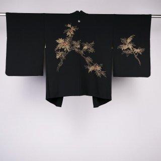 黒絵羽織 美品 裄丈63.5�