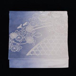 名古屋帯 花車 刺繍