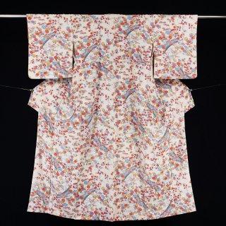 小紋 化繊 裄丈65.5�