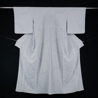単衣 化繊 新古品 美品 裄丈68�