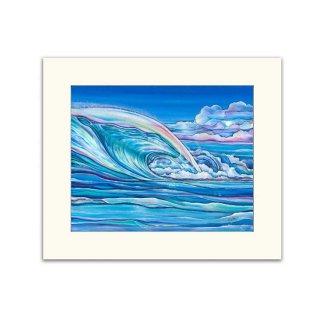 Nalu Blue(マットプリント)11×14/0617T20308-033