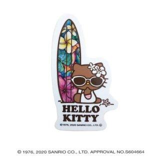 【日本限定モデル】HELLO KITTY×Colleen Wilcox SURFスタンドステッカー(Paradise)/1120S57226-003