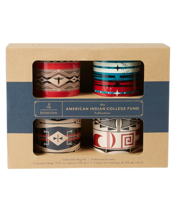 アメリカンインディアンカレッジファンド<br>マグカップセット