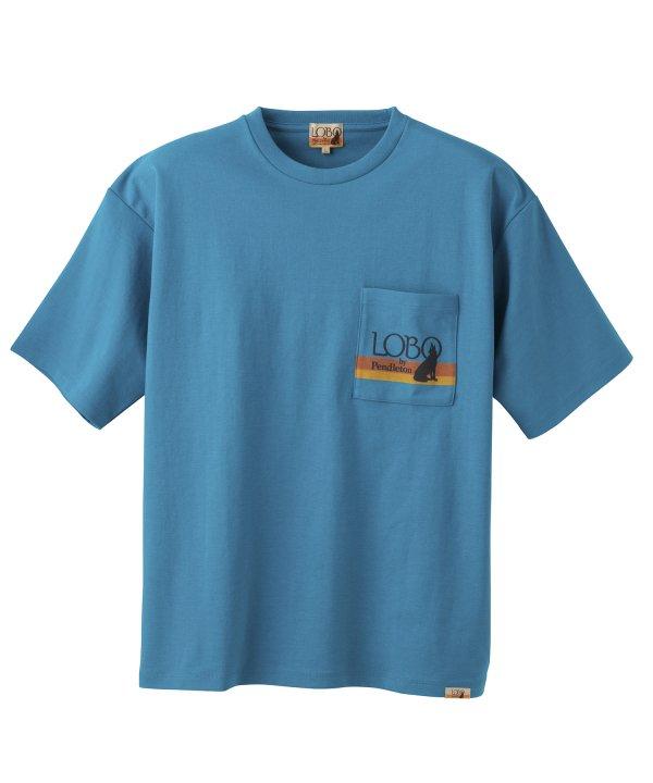 LOBO<br>バックプリントポケット<br>Tシャツ