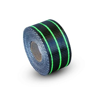 Uni Carbon Fibre Tape: 65mm Neon Green