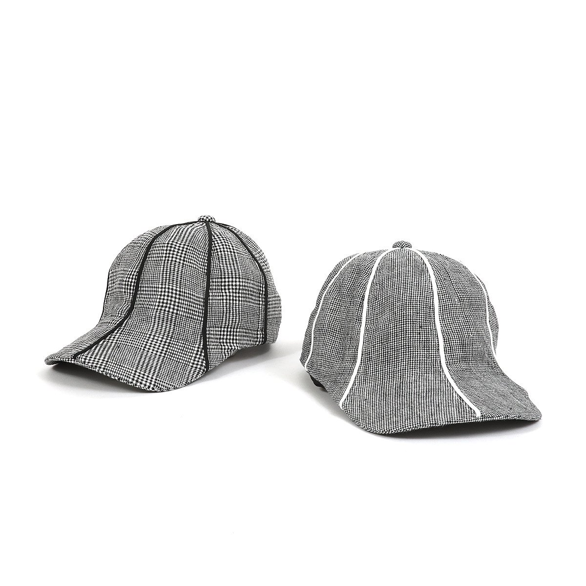 LINEN 8PANEL DRAPING CAP<img class='new_mark_img2' src='https://img.shop-pro.jp/img/new/icons38.gif' style='border:none;display:inline;margin:0px;padding:0px;width:auto;' />