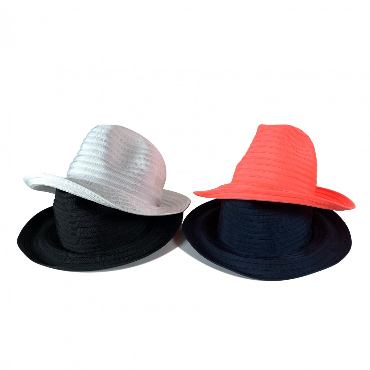 HICOSAKA(ヒコサカ) GROSGRAIN FOLDABLE HAT