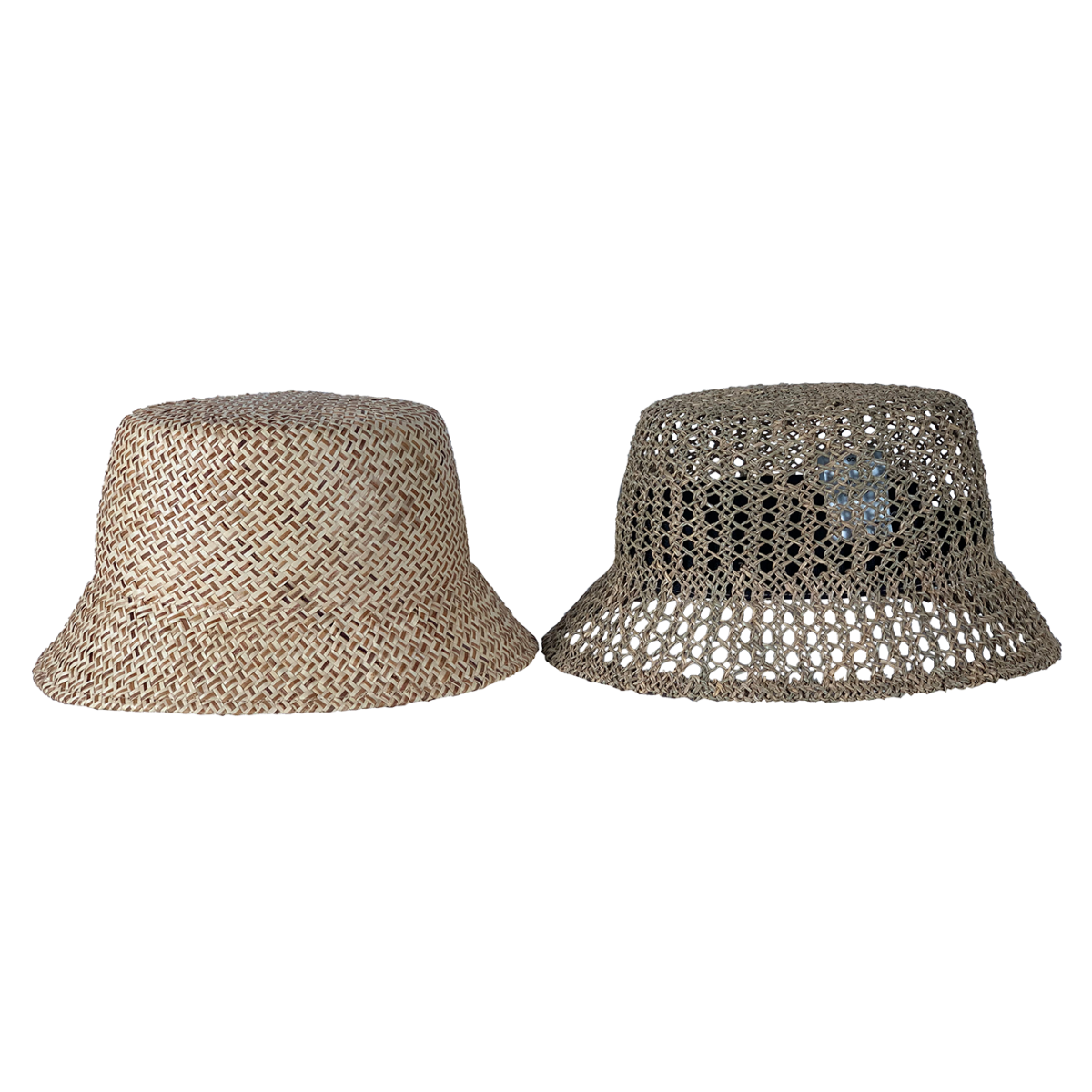 HICOSAKA(ヒコサカ) STRAW BUCKET HAT