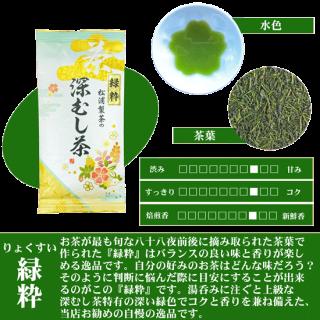 松浦製茶の緑粋[りょくすい](100g・200g)
