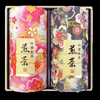 高級和紙缶 雅200g×2缶