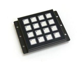 LED照光式16キー5V LFB-16MS-5