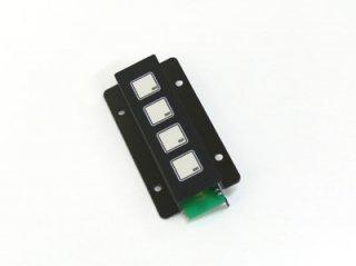 LED照光式4キー24V LFB-4SS-24