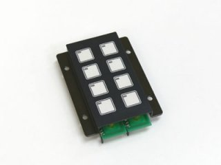 LED照光式8キー5V LFB-8SS-5