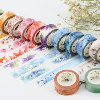 マスキングテープ【スペシャル 四季の色】15mm