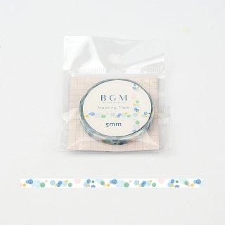 マスキングテープ【ライフ シャボン玉】5mm