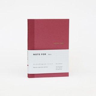 ノート【ベーシック・カラー マルチ・ワインレッド】A6