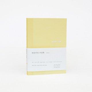 ノート【ベーシック・カラー マルチ・ライトイエロー】A6