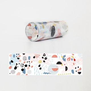 マスキングテープ【ライフ 抽象絵画】100mm